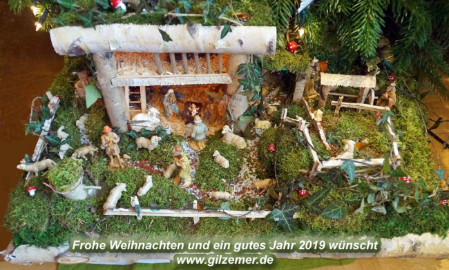 Charly´s Weihnachtskrippe 2018